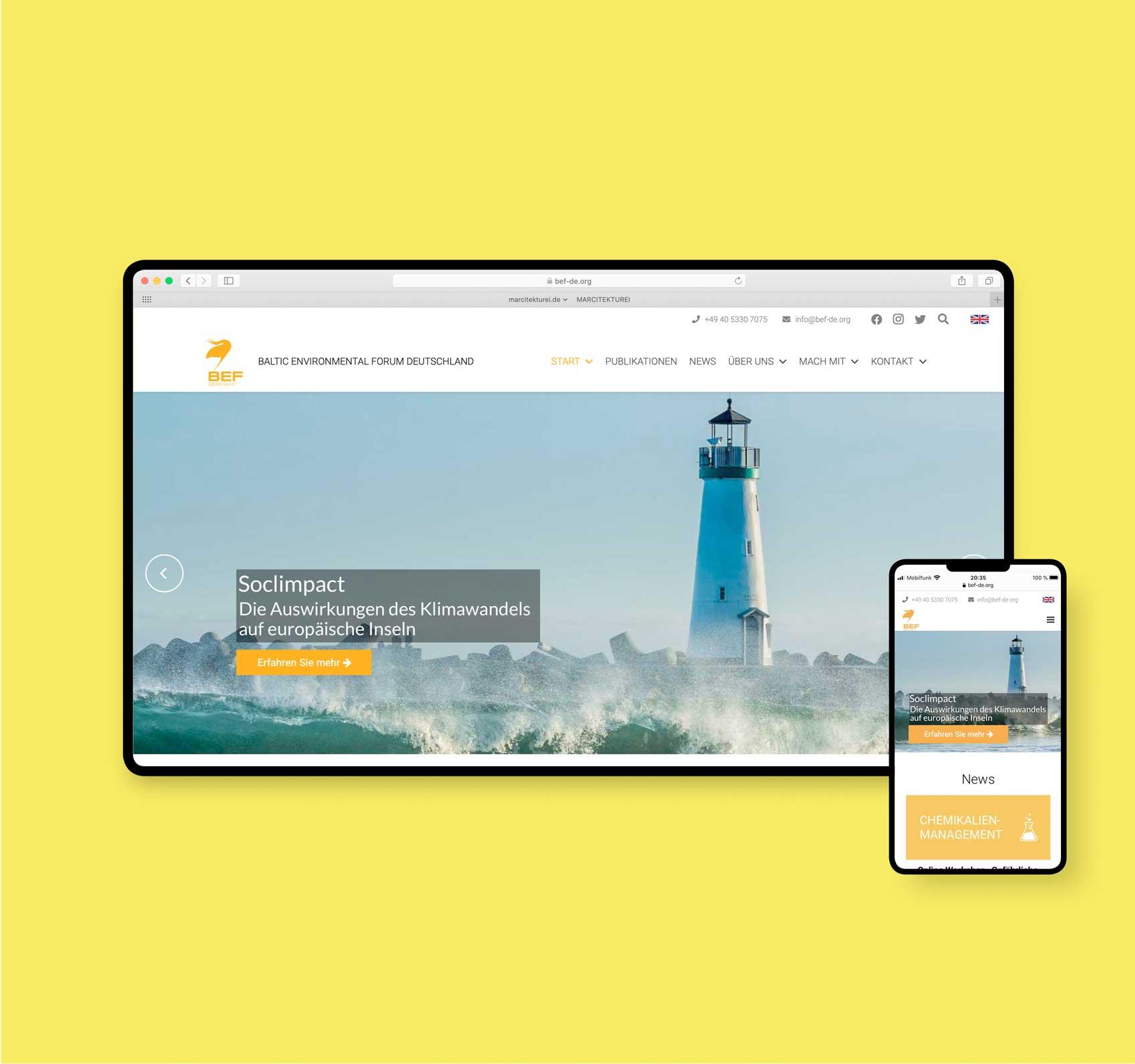 Webdesigner aus Hamburg | bef-de.org