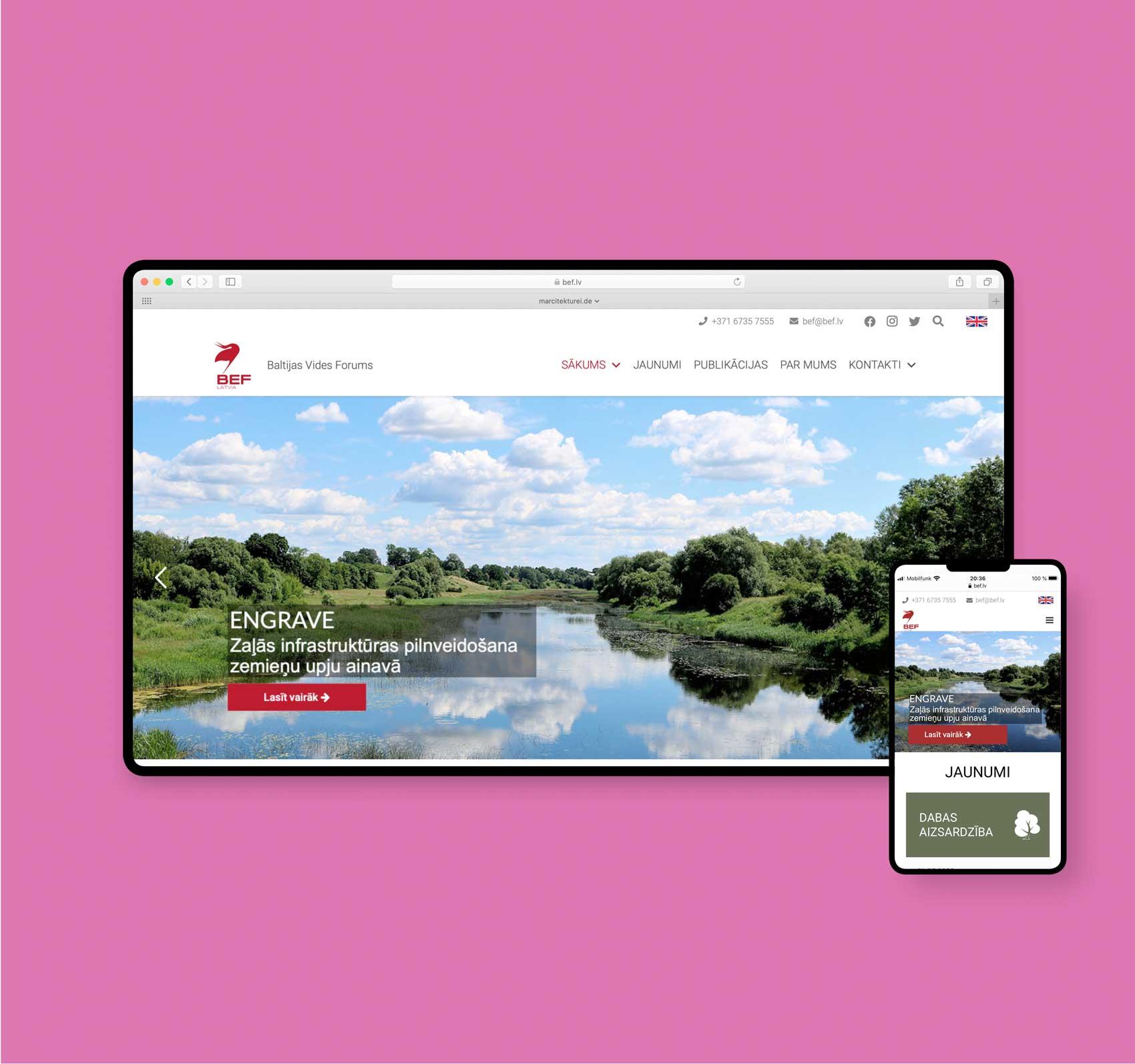 Webdesigner aus Hamburg | bef.lv