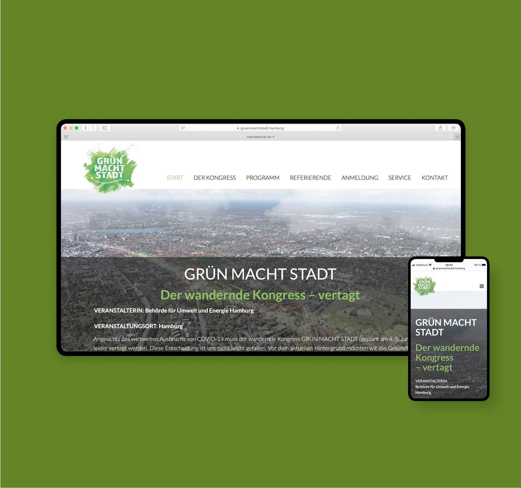 Webdesigner aus Hamburg | gruenmachtstadt.hamburg