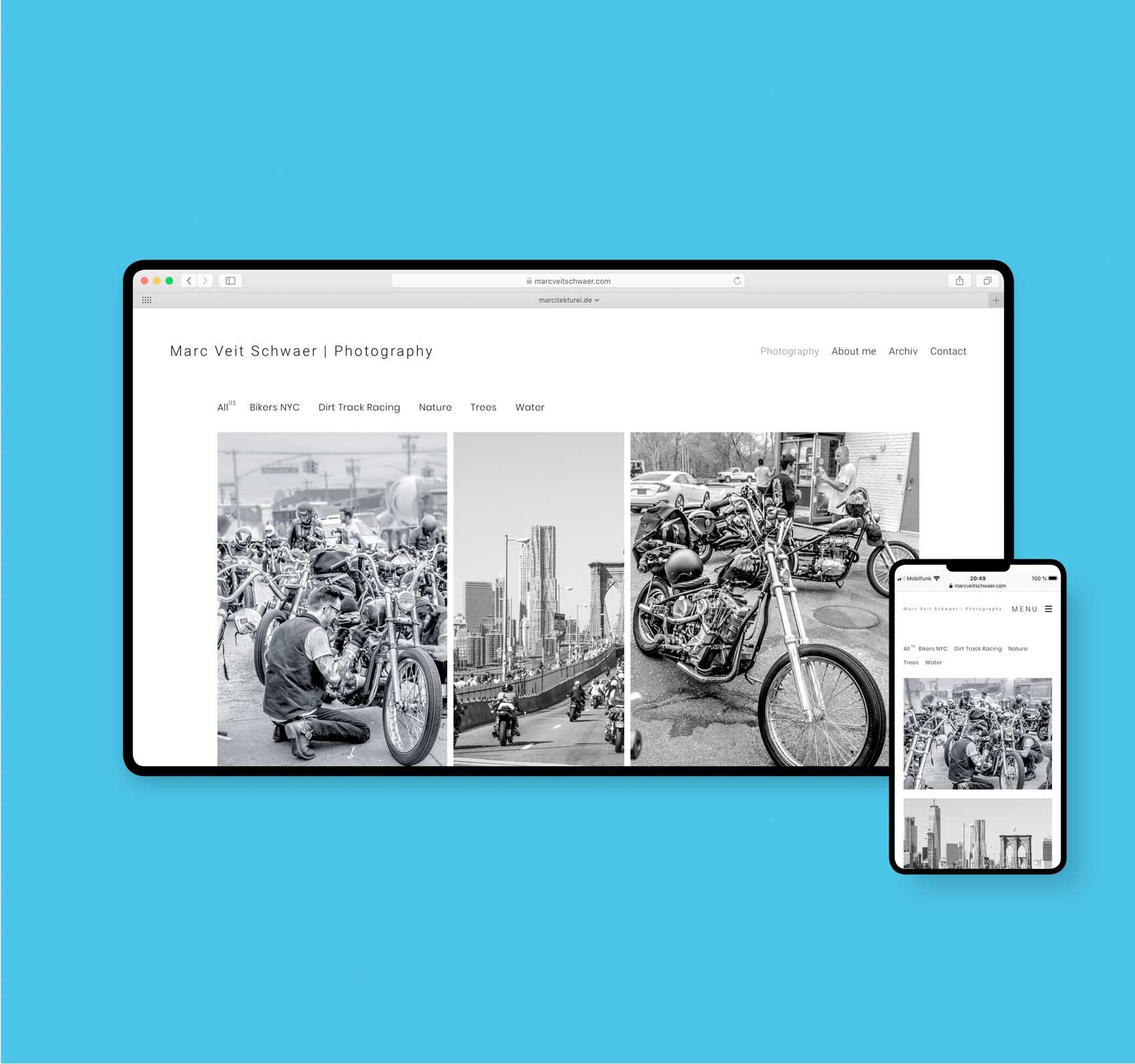MARCITEKTUREI webdesign | marcveitschwaer.com