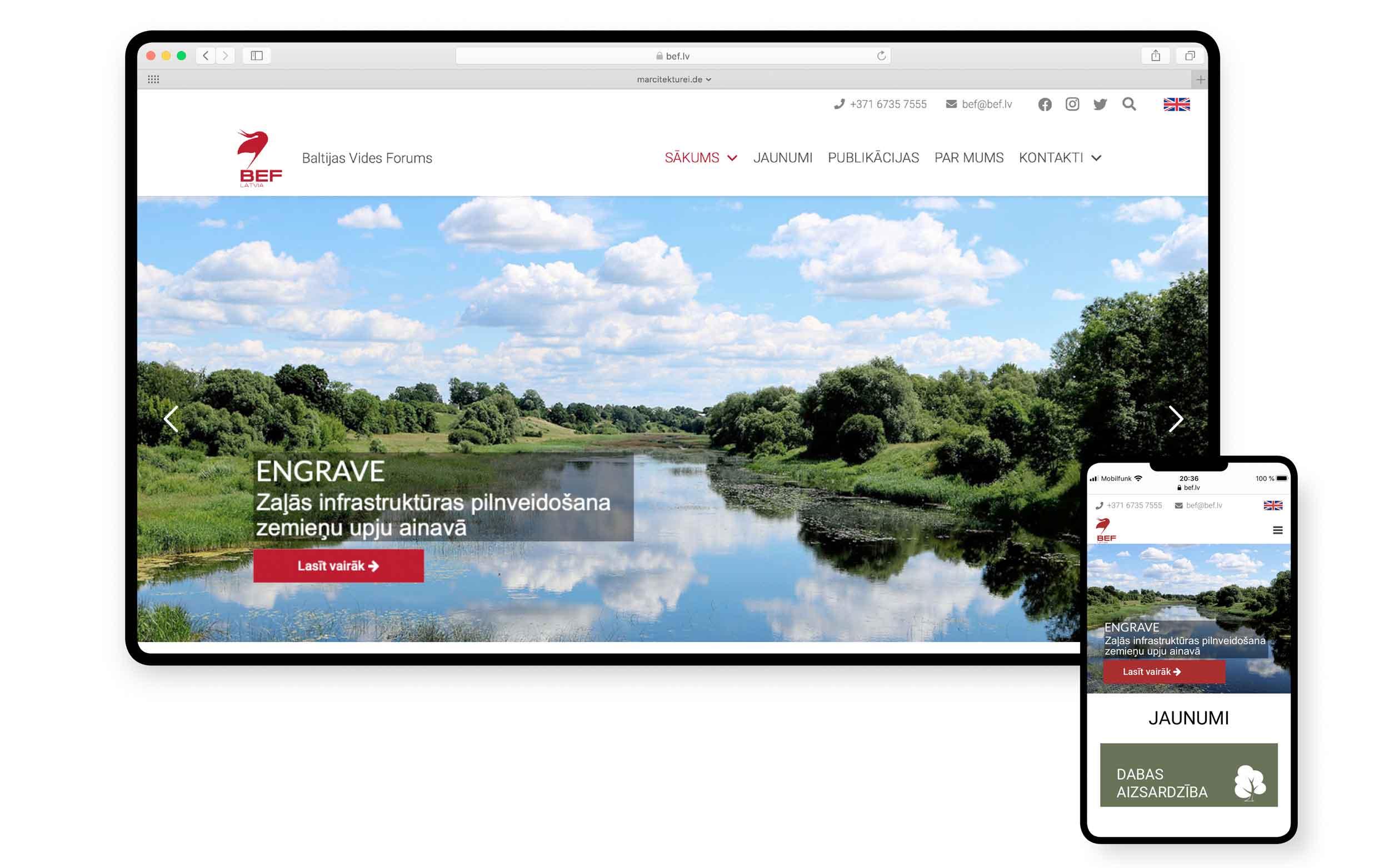 MARCITEKTUREI webdesign - Hamburg