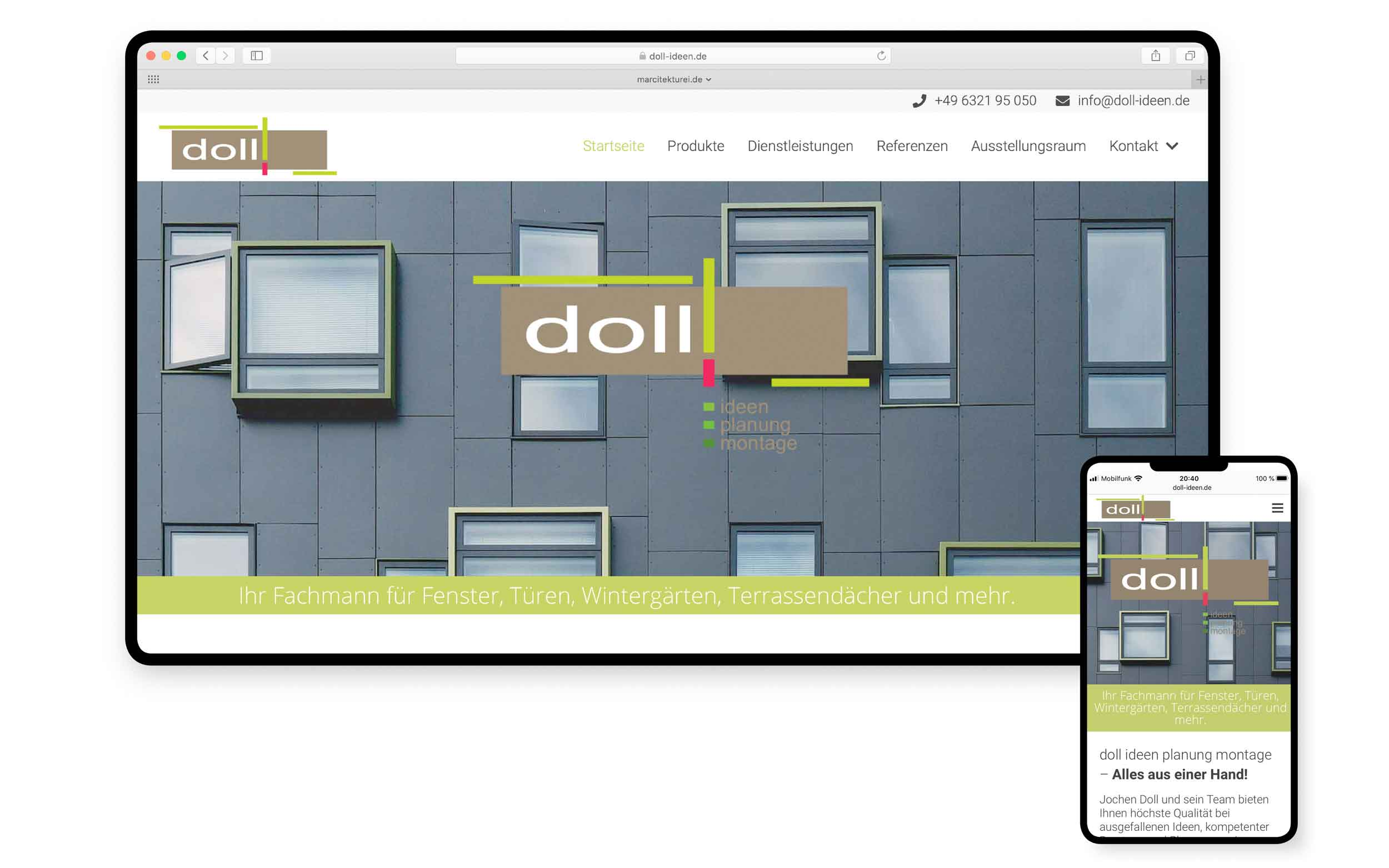 Webdesign aus Hamburg | Doll-Ideen