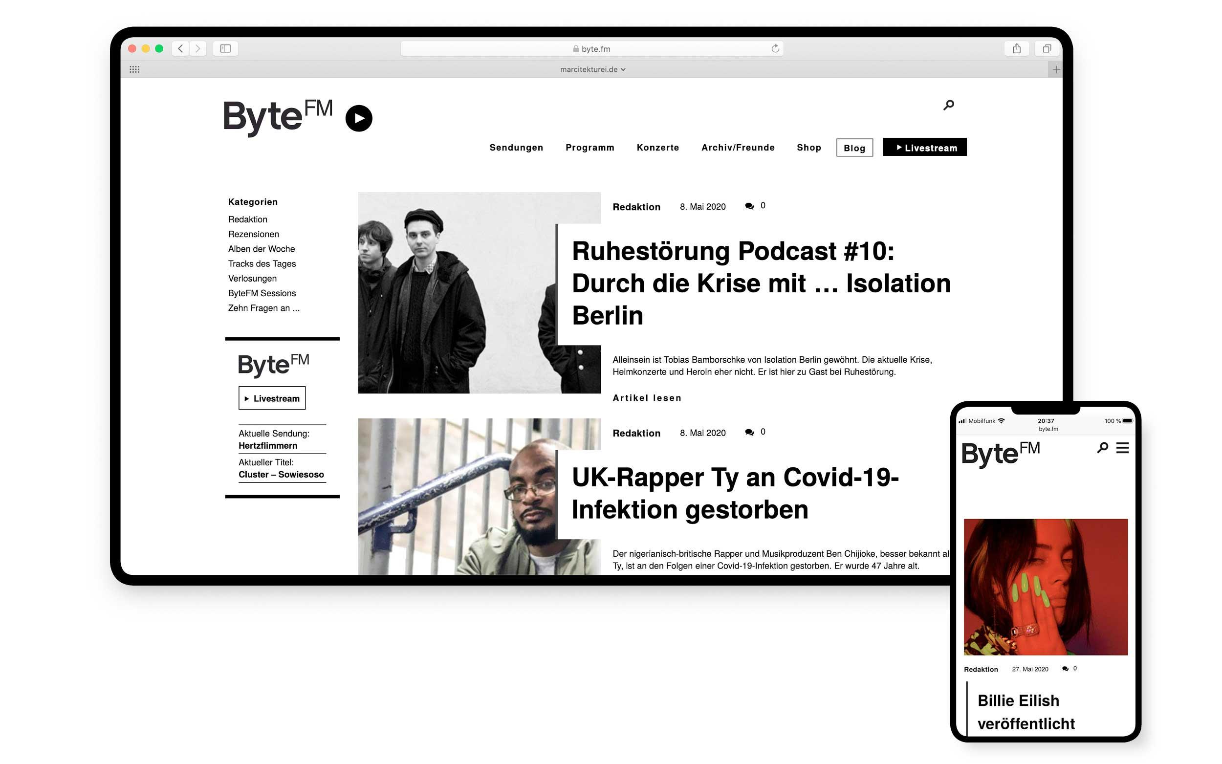 ByteFM Blog