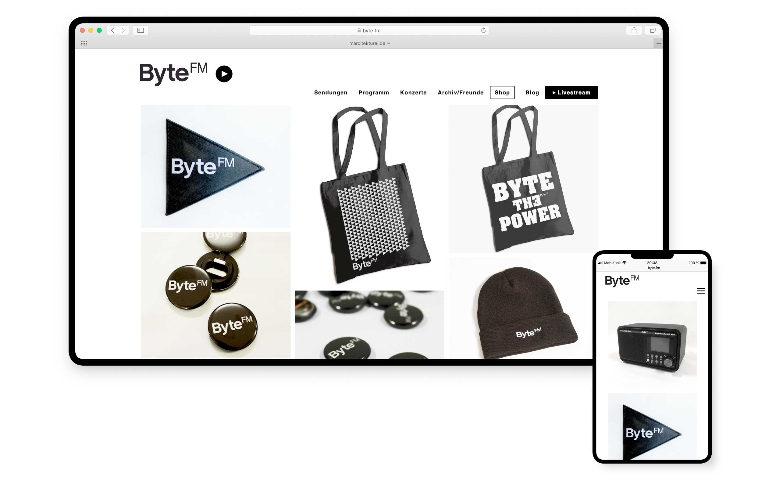ByteFM Shop